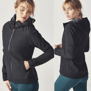 Fabletics Salma Hardshell Jacket Large